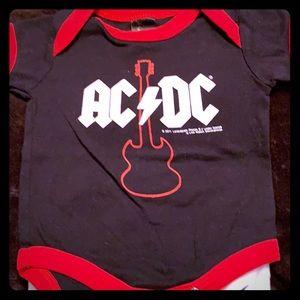 AC DC BABY TEE